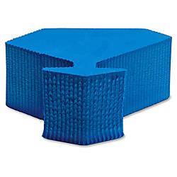 Lorell Door Wedge Foam Blue