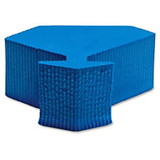 Lorell Door Wedge Foam Blue