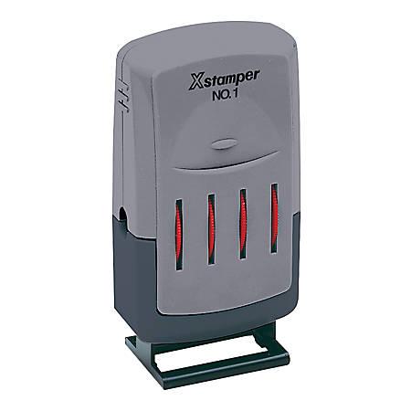 Xstamper® VersaDater® Line Dater, Red