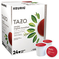 Tazo Awake Tea Single Serve K