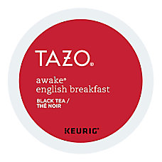 TAZO Awake Tea K Cup Pods