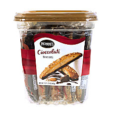 Nonnis Biscotti Cioccolati Tub Of 25
