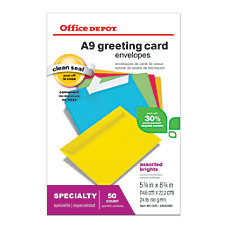 Office Depot Brand Greeting Card Envelopes