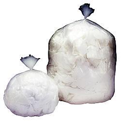 Medium Duty Clear Plastic Trash Bags