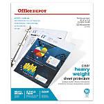 Office Depot Brand Heavyweight Sheet Protectors