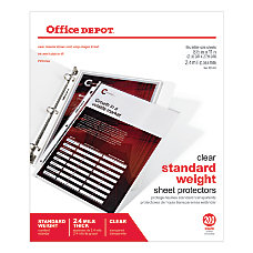 Office Depot Brand Standard Weight Sheet