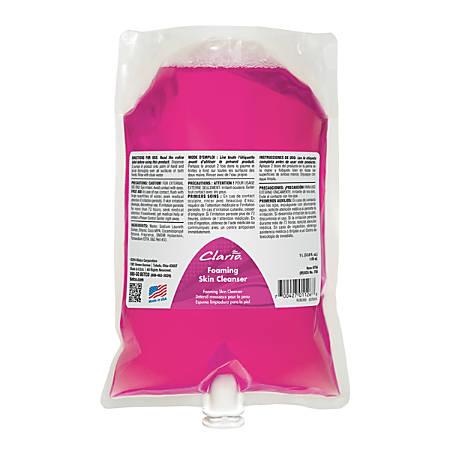 Betco® Clario® Foaming Skin Cleanser, 1,000 mL, Case Of 6