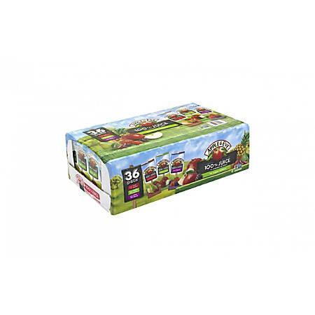 Apple & Eve 100% Juice Variety Pack, 6.75 Oz, Pack Of 36 Juice Boxes