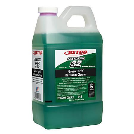 Betco® Green Earth® Restroom Cleaner, 2 Liters, Case Of 4 Bottles