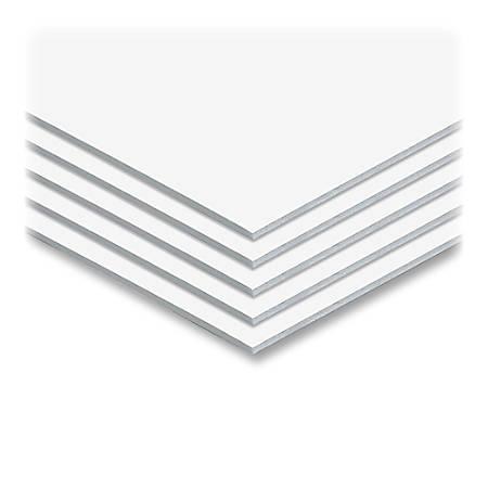 """Elmer's® Sturdy-Board Foam Boards, 30"""" x 40"""", White, Carton Of 25"""