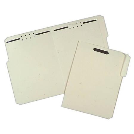 Pressboard Folders, 1/3 Cut, Letter Size, 30% Recycled, Box Of 100 (AbilityOne 7530-00-286-8570)