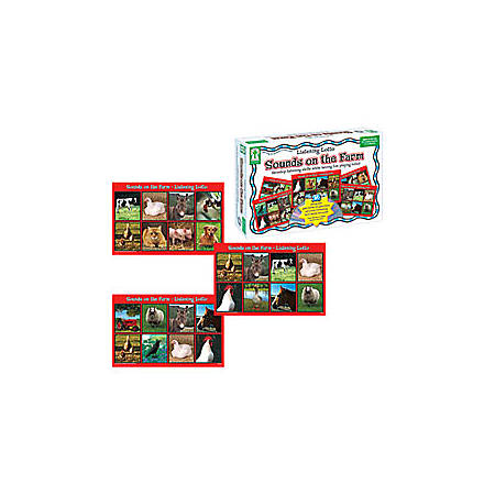 Carson-Dellosa Key Education Listening Lotto Game — Sounds On The Farm