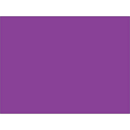 """Tape Logic® Write™On Inventory Labels, DL631M, Rectangle, 3"""" x 4"""", Purple, Roll Of 500"""