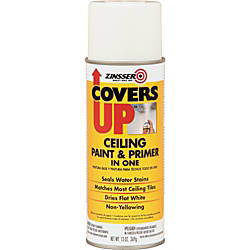 Zinsser Covers Up Ceiling Paint And Primer In One Stain