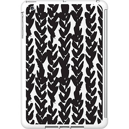 OTM iPad Mini White Glossy Case Black/White Collection, Hearts - For iPad mini - Hearts - White, Black - Glossy
