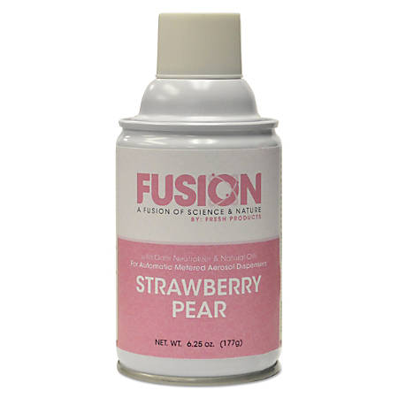Fresh Products Fusion Metered Aerosols, Floral Scent, 6.25 Oz, Pack Of 12 Aerosols