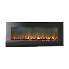 Cambridge Metropolitan CAM56WMEF 2BLK Electric Fireplace