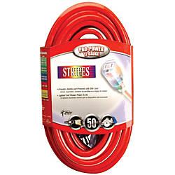 Southwire Stripes Extension Cord 100 RedWhiteBlue