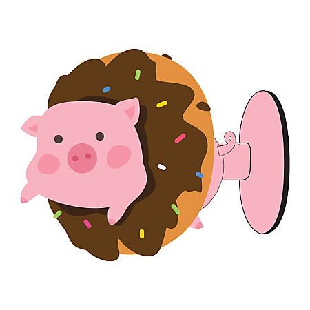 Digital Energy Phone Suction Stand, Pig/Doughnut