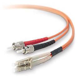 belkin fiber optic duplex cable by office depot officemax. Black Bedroom Furniture Sets. Home Design Ideas