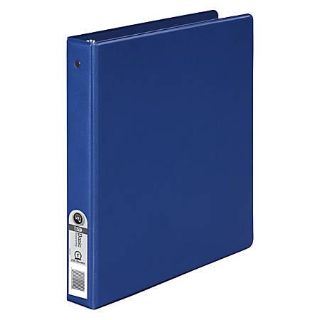"""Wilson Jones® Binder, 1"""" Rings, 36% Recycled, Blue"""