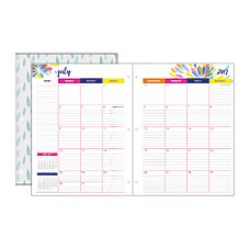 Divoga Happy Thoughts Monthly Academic Planner