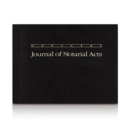 Journal of Notarial Acts Notary Log, 122 Pages