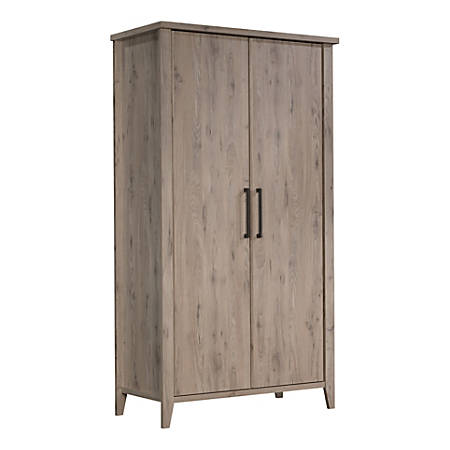 "Sauder® Summit Station 64""H Storage Cabinet, Laurel Oak"