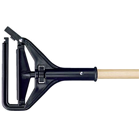 """Wilen Speed Change Wood Wet Mop Handle, 60"""", Natural"""