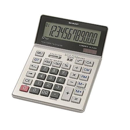 Sharp® VX-2128V Display Calculator
