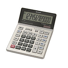 Sharp VX 2128V Display Calculator