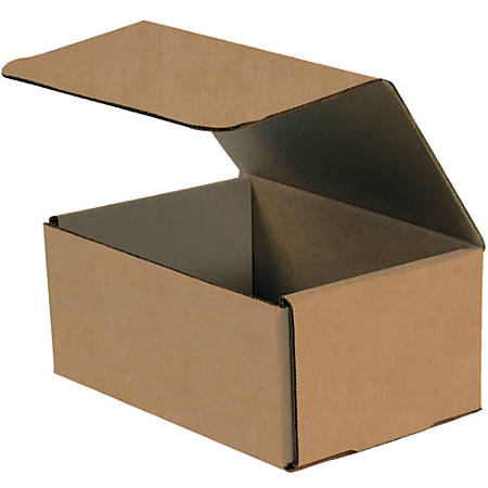"""Office Depot® Brand Corrugated Mailers, 8"""" x 6"""" x 2"""", Kraft, Pack Of 50"""