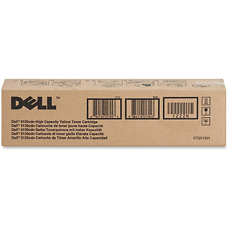 Dell™ T222N High-Yield Yellow Toner Cartridge