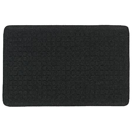 "GetFit Standing Mat, 22"" x 32"", Coal Black"