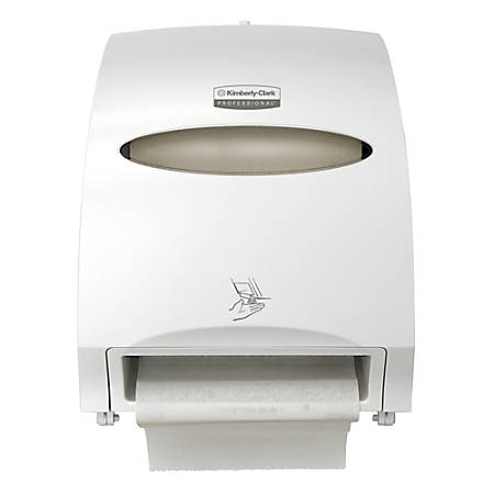 Kimberly-Clark® Professional Automatic Touchless High-Capacity Paper Towel Dispenser, White