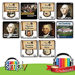 American History Audio books 10 Title