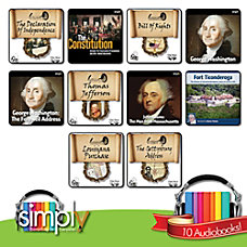 American History Audio books 10 Title