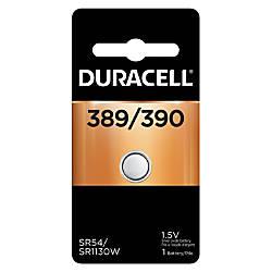 Duracell 15 Volt Silver Oxide Watch