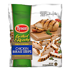 Tyson Fully Cooked Chicken Breast Strips