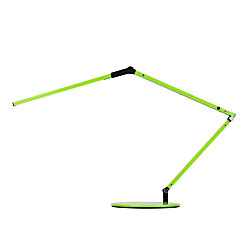"Koncept Z-Bar Mini LED Desk Lamp, Warm Light, 12-3/4""H, Green"