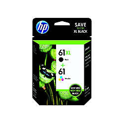 Hp 61xl61 Blacktricolor Original Ink Cartridges Cz138fn Pack Of 2 By Office Depot Amp Officemax