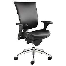 WorkPro 768E Commercial Leather High Back