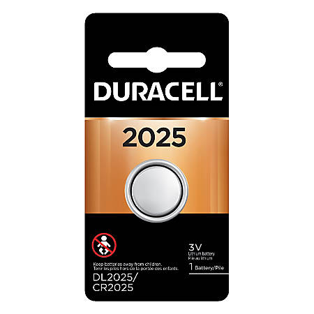 Duracell® 3 Volt Lithium Security Battery, 2025