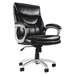 Realspace EC600 Executive High Back Chair