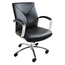 Brenton Studio Manager Chair BlackSilver