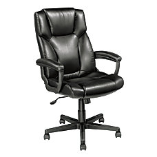 Realspace Breckland Bonded Leather Executive High