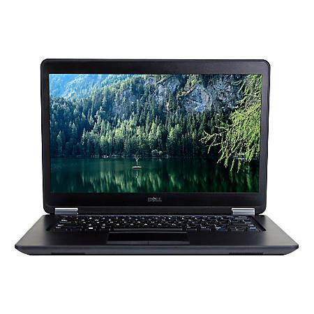 """Dell™ Latitude E7450 Refurbished Laptop, 14"""" Screen, 5th Gen Intel® Core™ i7, 8GB Memory, 500GB Solid State Drive, Windows® 10 Professional, OD5-30977"""