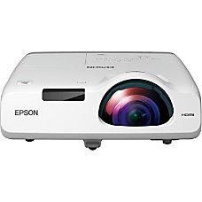Epson PowerLite 520 Short Throw LCD