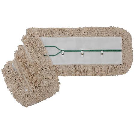 "Wilen Swivel Snap Dust Mop Head, 36"" x 5"", Natural"