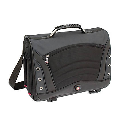 "Wenger SATURN - Notebook carrying case - 17"" - gray"